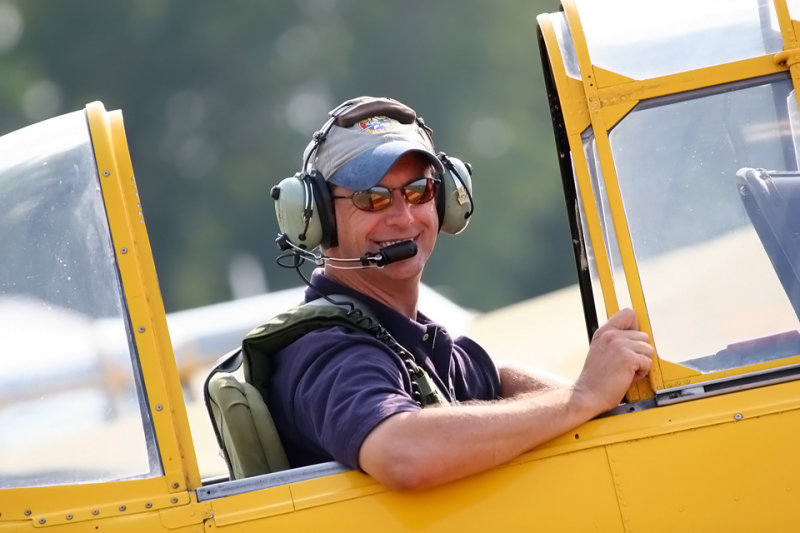Chuck with Warbird Adventures at Geneseo