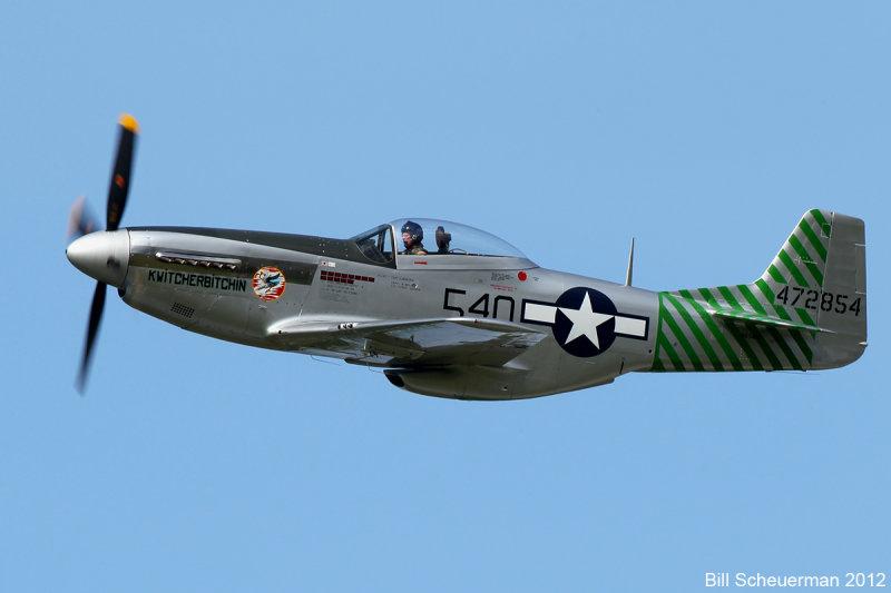 P-51 Kwitcherbitchin