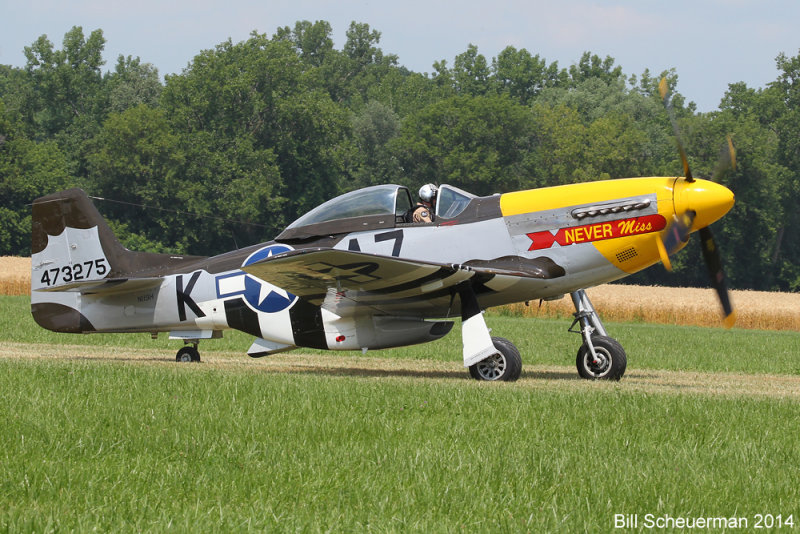 P-51 Mustang, Never Miss