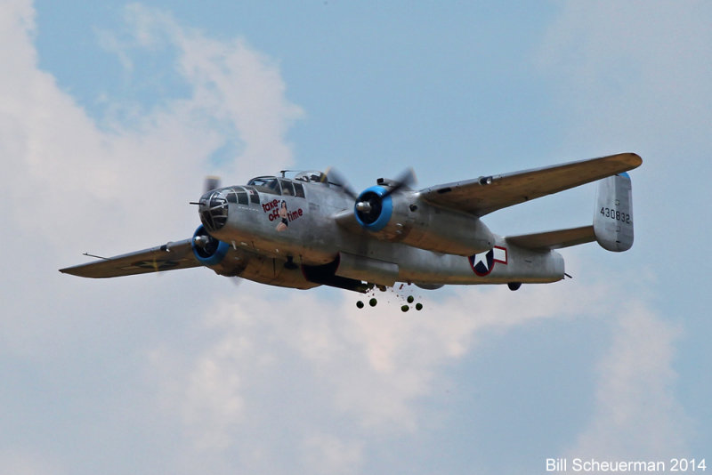 B-25 Take-off Time