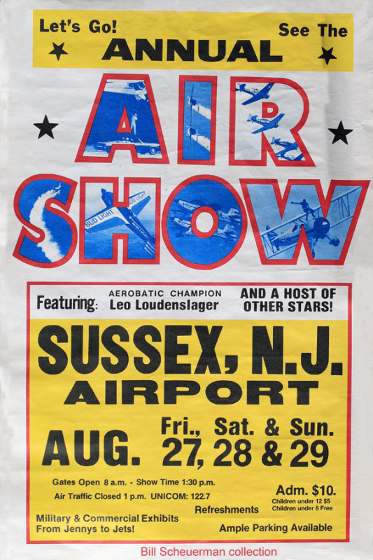1993 Sussex Air Show Poster
