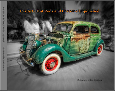 Car Art - Hot Rods and Customs Unpolished