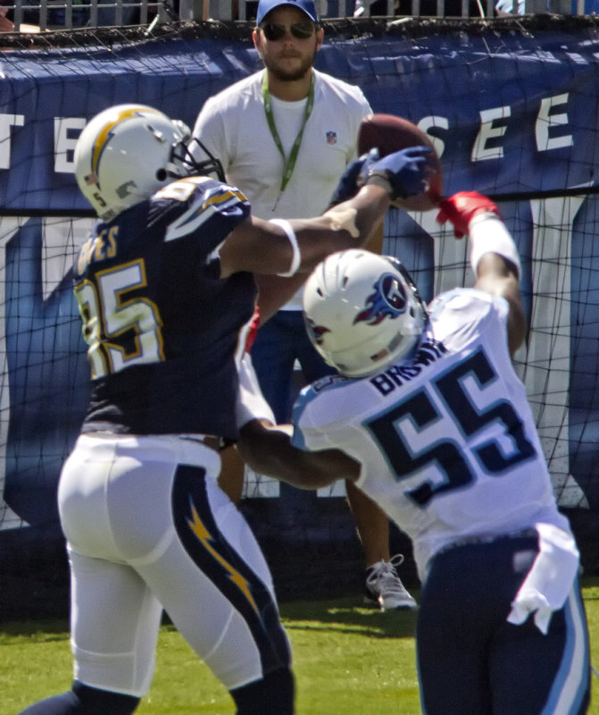 Chargers Touchdown