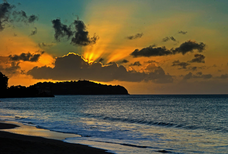 Castries Sunset