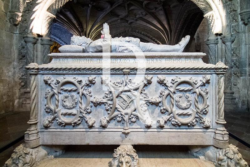 The Tomb of the Poet Luis Vaz de Camoes