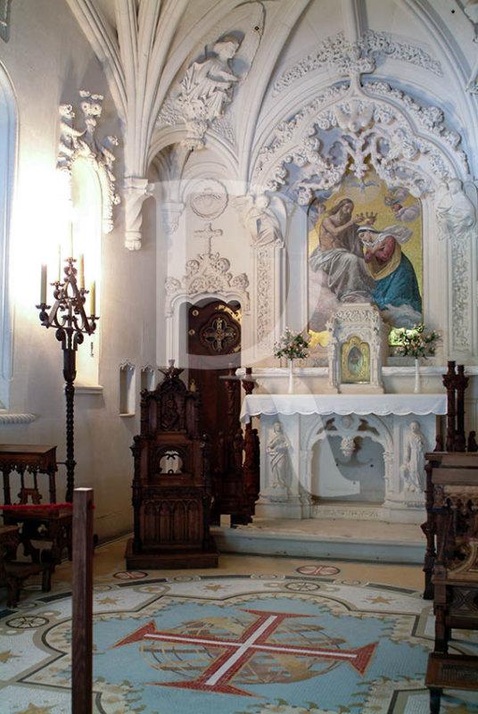Interior da Capela