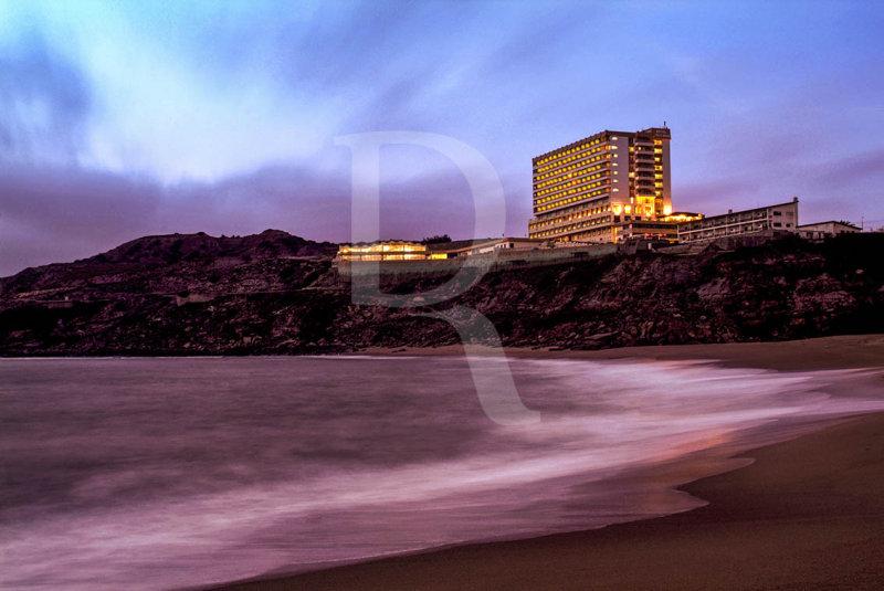 Porto Novo e o Hotel Golf Mar
