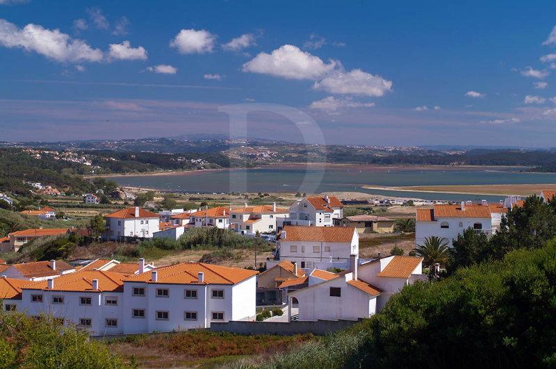 A Lagoa de Óbidos <br>em 21 de julho de 2007