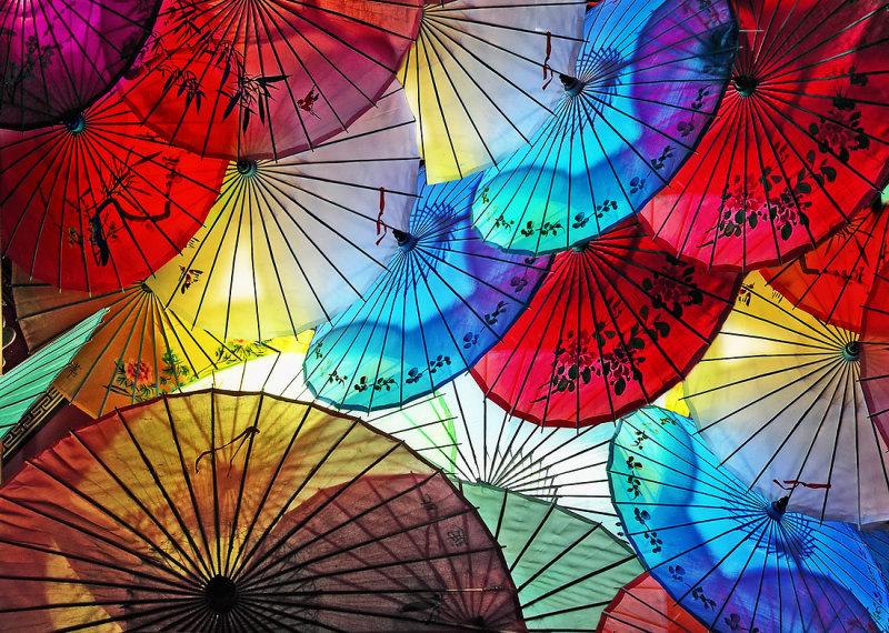 Night Umbrellas 2