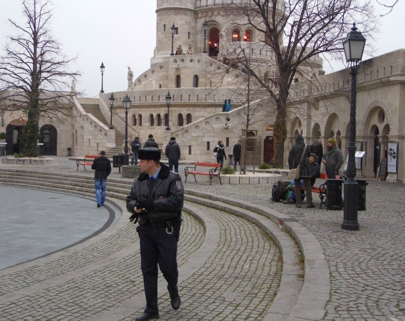 BY THE FISHERMANS BASTION
