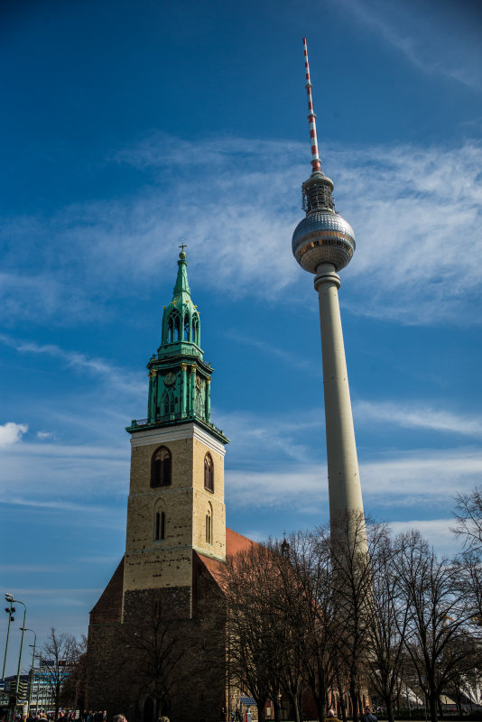 Old and New Berlin