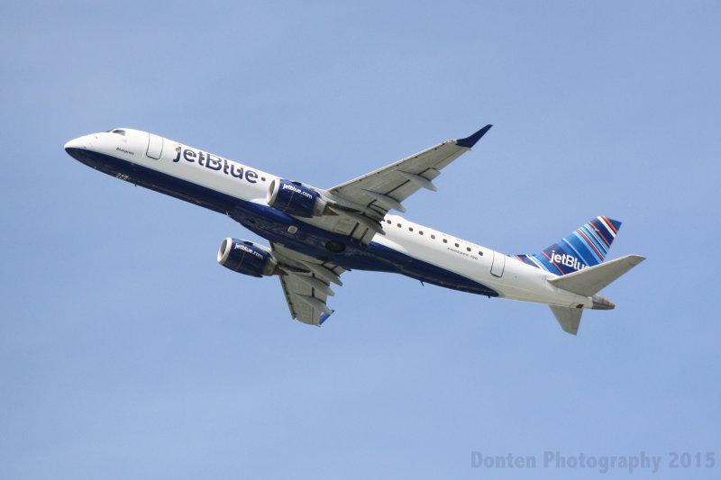 Embraer 190 (N249JB) Blueprint