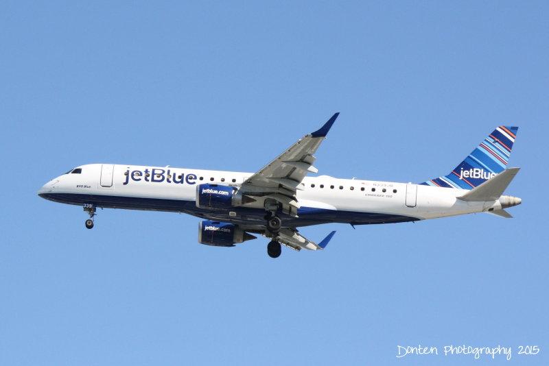 Embraer 190 (N339JB) BYO Blue