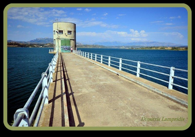 Artificial  lake  Pineios - Peloponnese ...