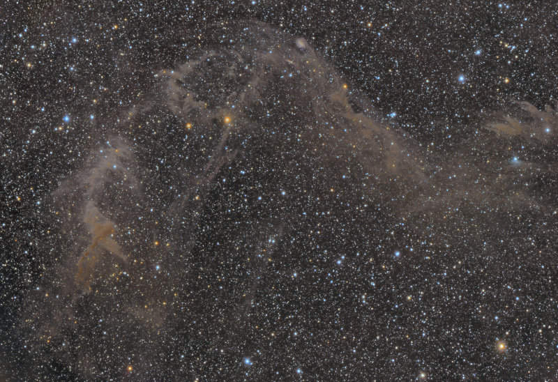 Jacobs Ladder - IC4633, IC4635 and IFN in Apus (also Sarahs Nebula)