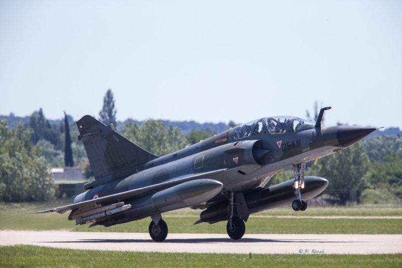 Mirage 2000 - Take off run - 7863