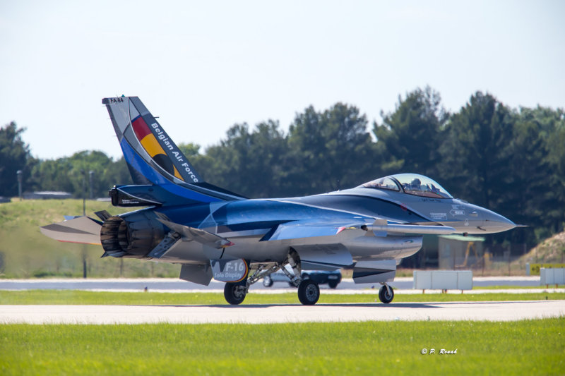 F-16 Solo Display Taxing - 9441
