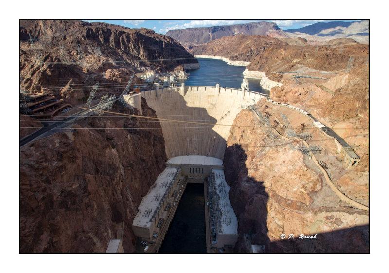 Hoover Dam - on the Nevada-Arizona state line - 5436
