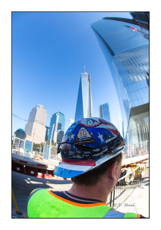 Ground Zero worker - New York - 9100