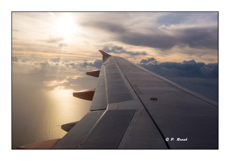 Au dessus de la mer - Basel-Nice - 3353
