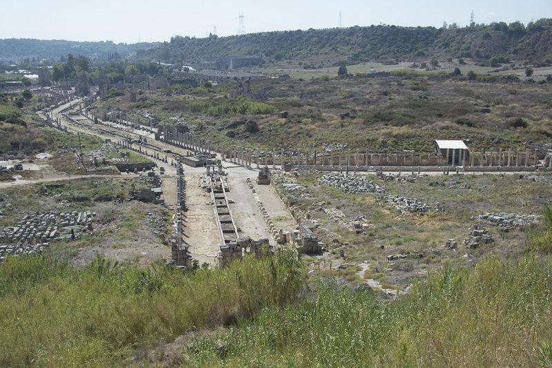 Perge Acropolis area shots October 2016 9532.jpg