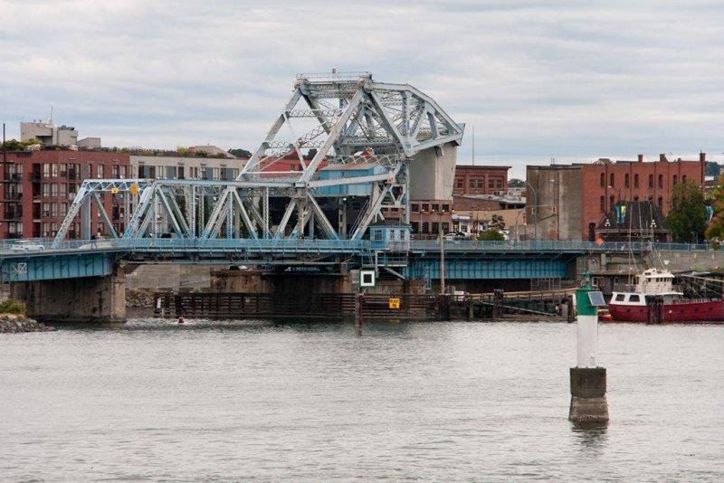 Johnson Street Bridge - Blue Bridge