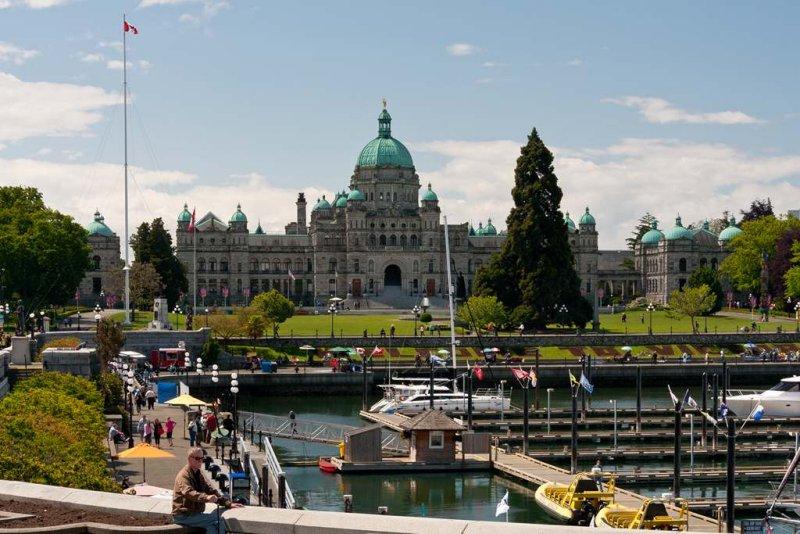 Parliament Buildings & Inner Harbour