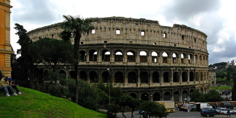 Colosseo from Monte Oppio<br/>..   4270-1