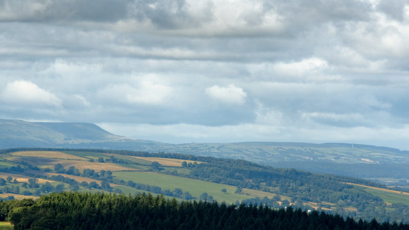 to Hay Bluff and maybe Merbach Hill