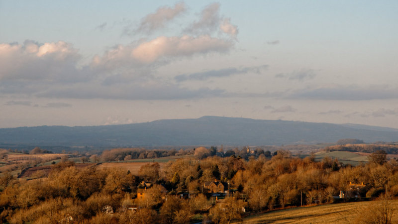 Clee Hill from Bromyard Downs