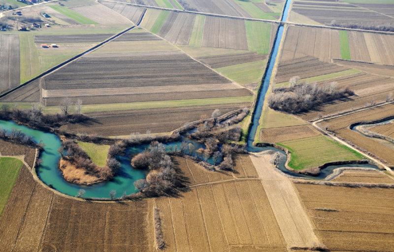 The Nera river