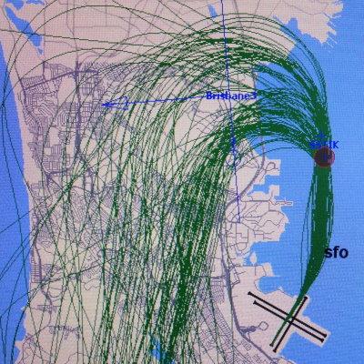 SSTIK flights over Brisbane