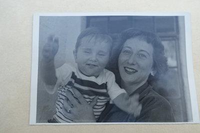 Sharon's photograph album