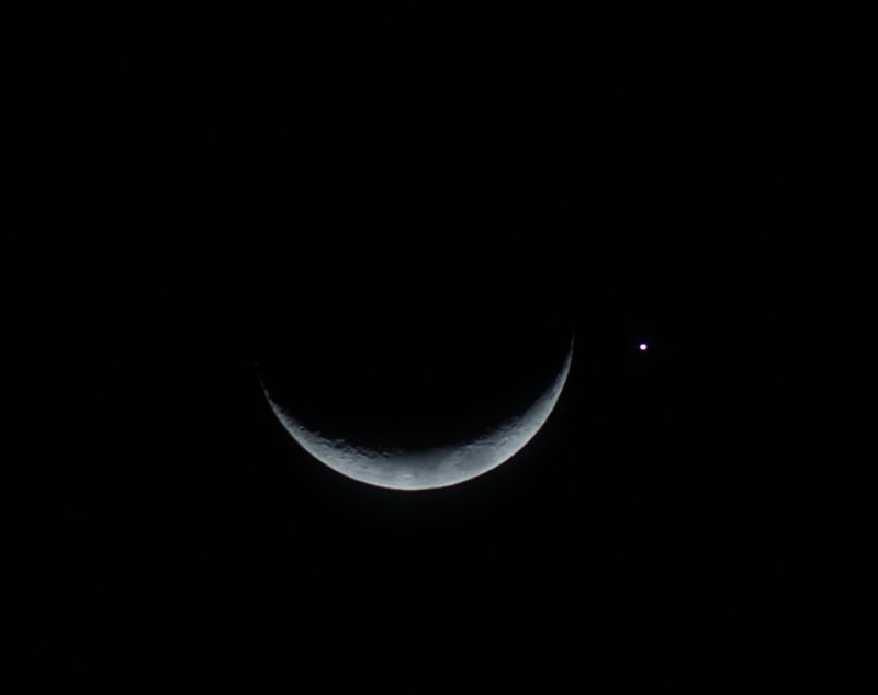 Venus and Moon conjunction 2013/09/08