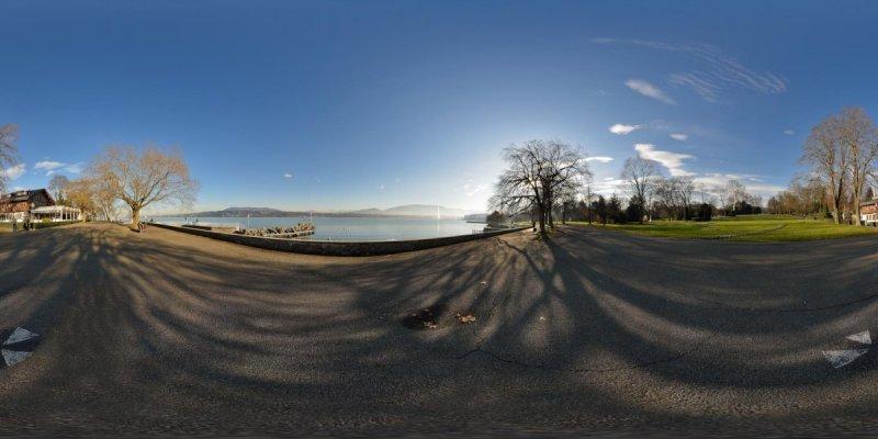 Parc de la Perle du Lac (Pearl of the Lake Park) in Geneva, Switzerland