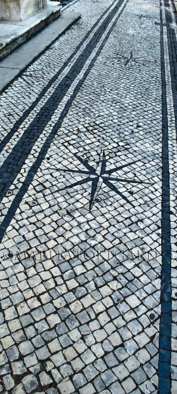 Amazing pavement in Coimbra, Portugal