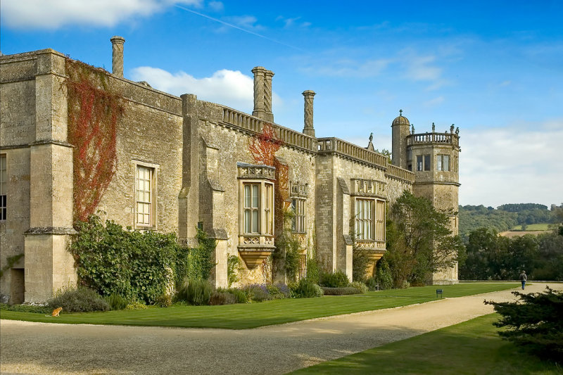 Lacock Abbey ~ side view