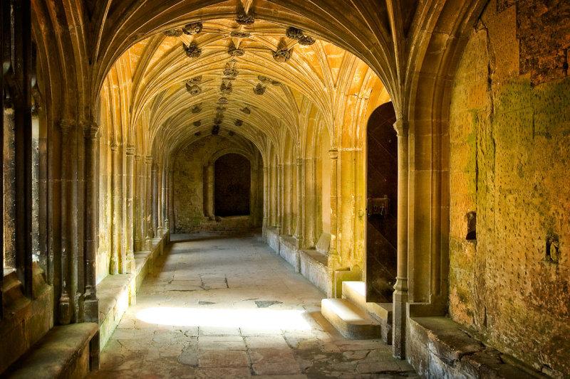Lacock Abbey ~ cloisters