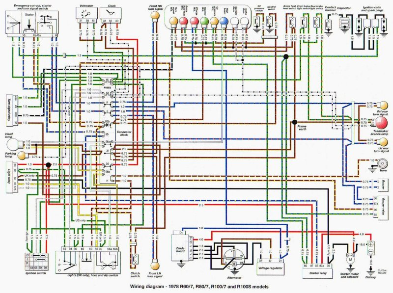 154644966.4iBJcx6g bmw r100 1978 instrument wiring diagram bmw wiring diagrams Basic Electrical Wiring Diagrams at gsmx.co