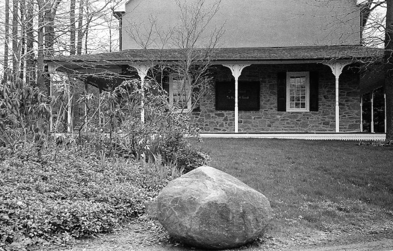 Stone and Porch