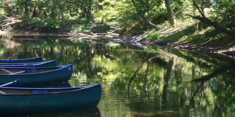 Four Canoes