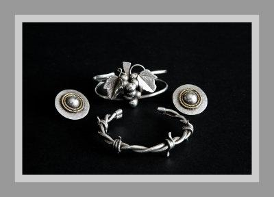 Silver is best...