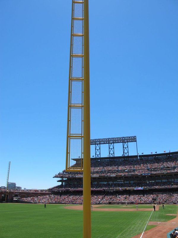 Left Field Foul Pole