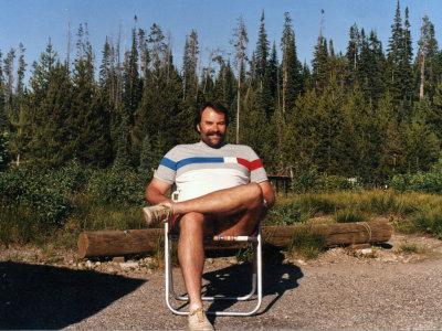 Camping at Yellowstone National Park 1987