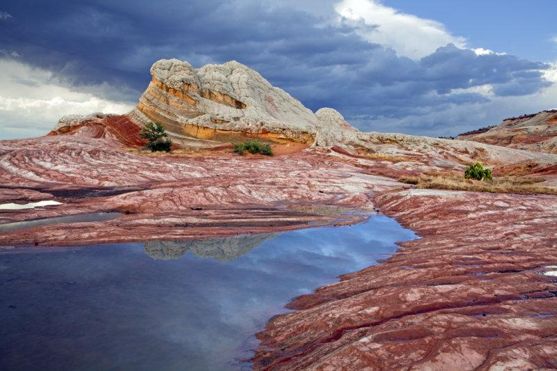 The Sentinal, White Pocket, Vermillion Cliffs National Monument, AZ