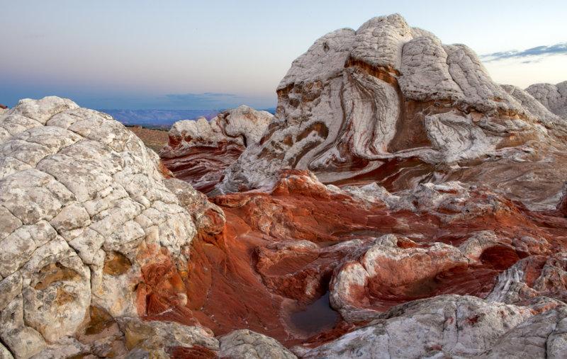 Brain rocks, Whie Pocket,  Paria Plateau, Vermilion Cliffs National Monument, AZ