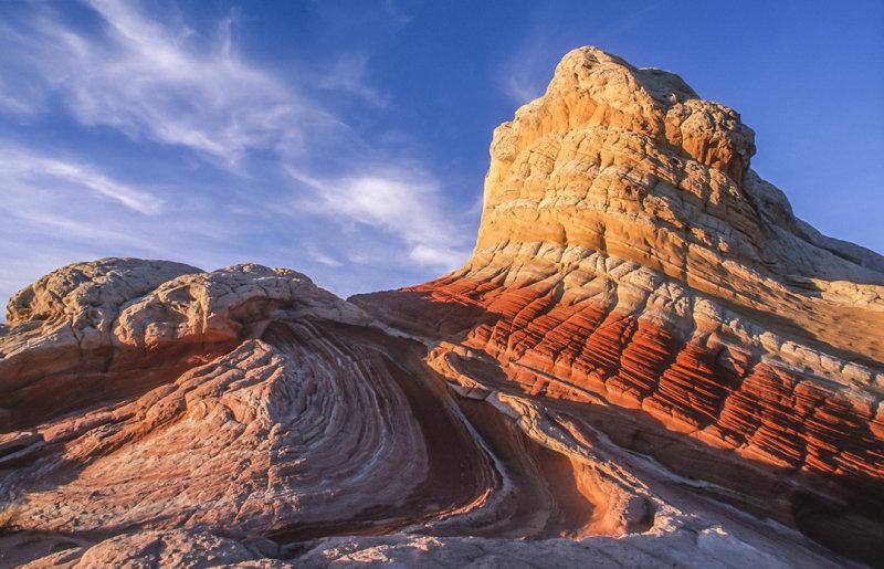 Striped Sentinel, White Pocket, Paria Plateau, AZ