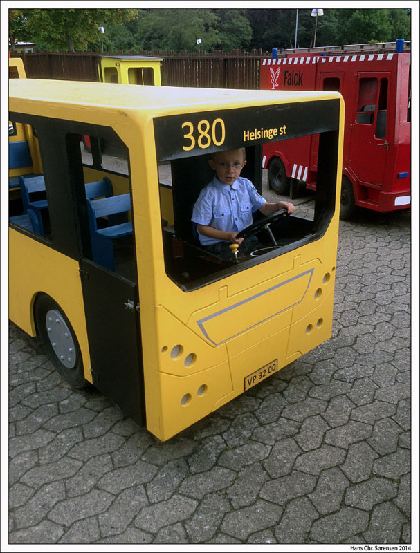 The little bus driver