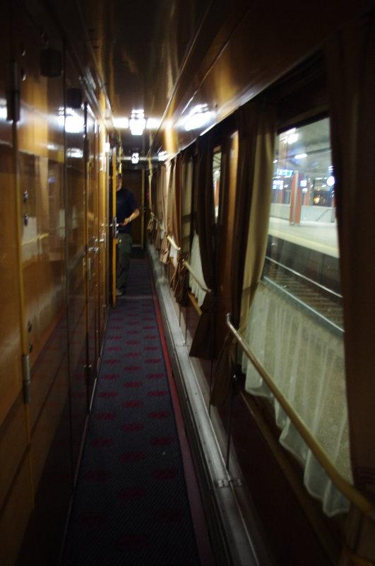 Overnight train, Krakow-Prague