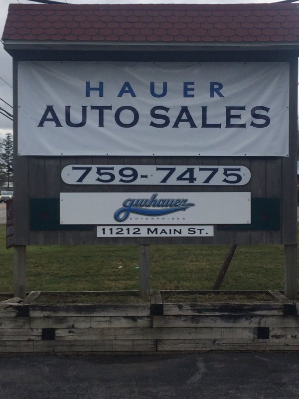11212 Main St Clarence right across from Antique World!